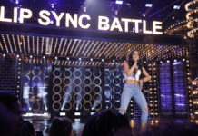 Karrueche tran performing at lip sync battle
