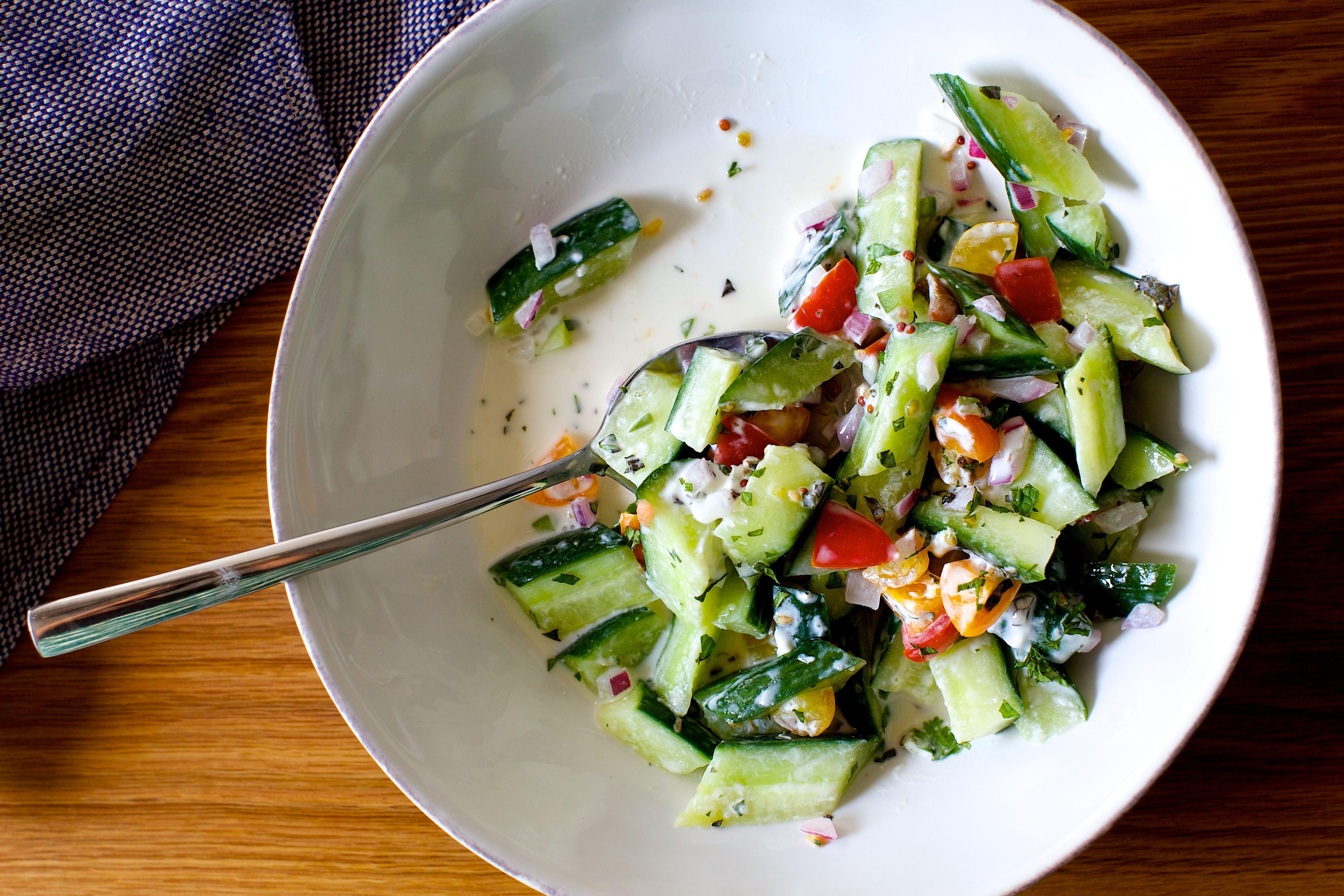 Salads/raita