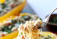 Spaghetti Squash Lasagna with Broccolini