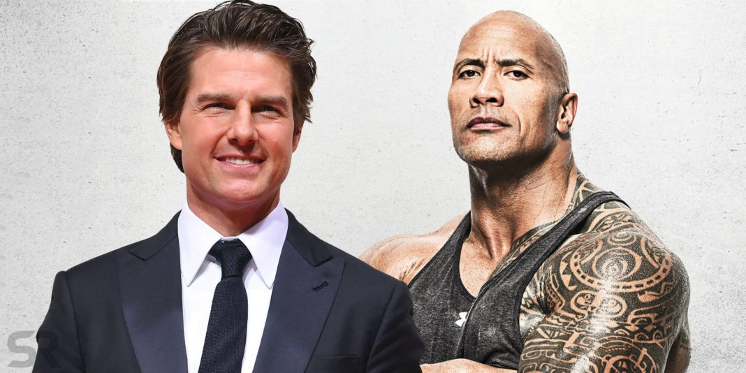 tom cruise and dwayne johnson