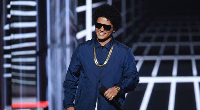 Bruno Mars Forced to Temporarily Halt Concert After Stage Catches Fire