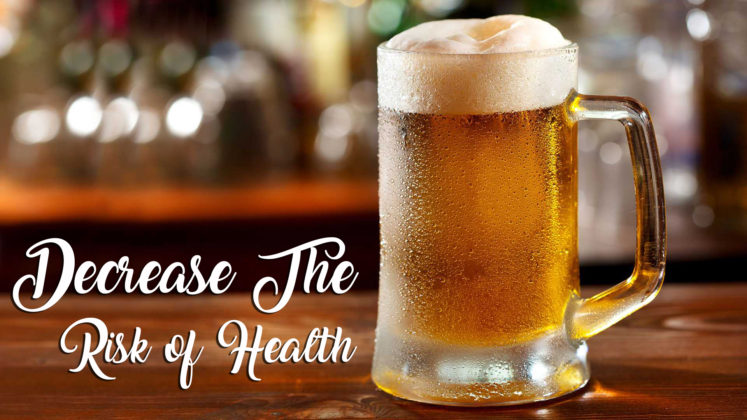 beer for decrease the risk of heart disease