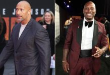dwayne johnson and tyrese gibson