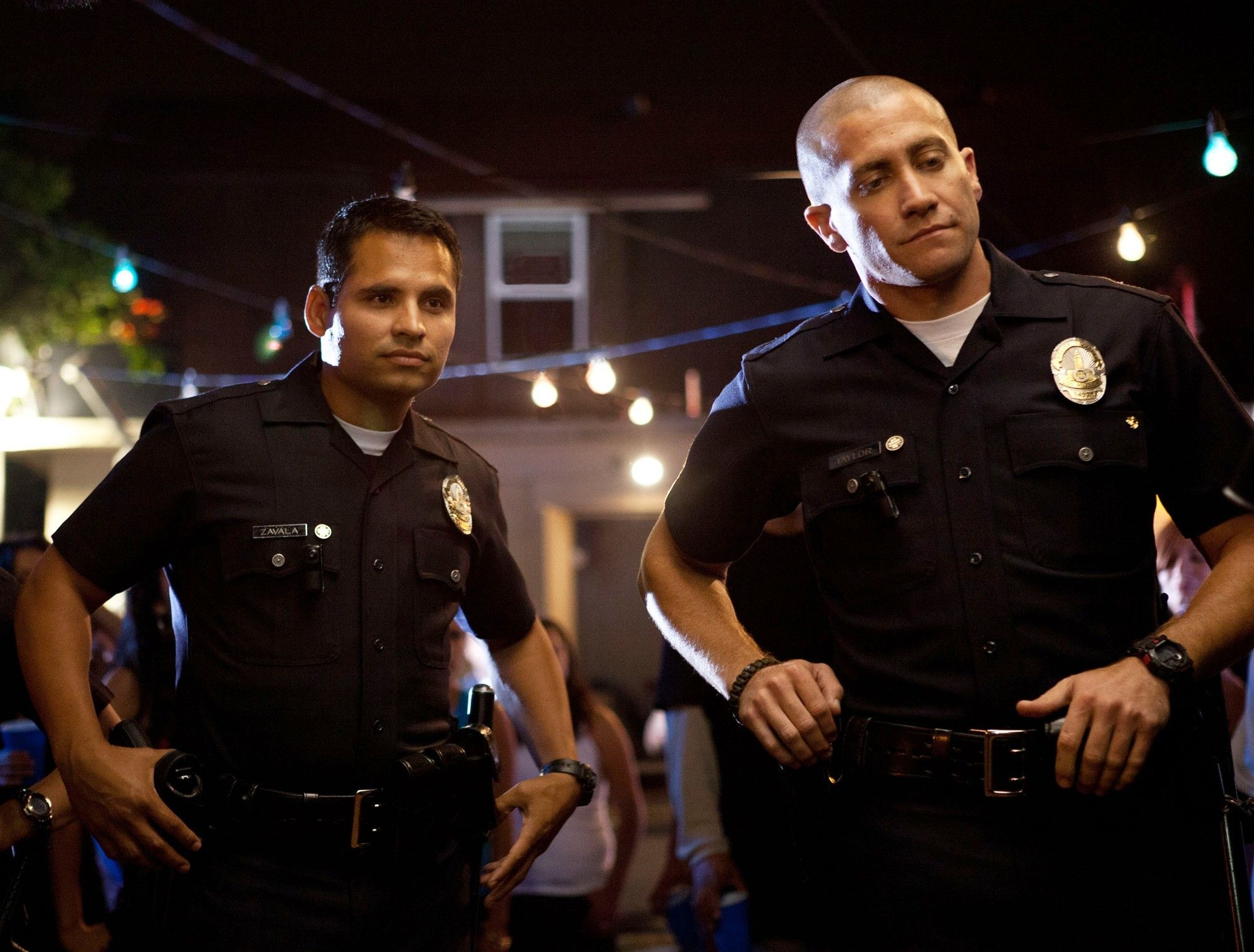 end of watch movie scene