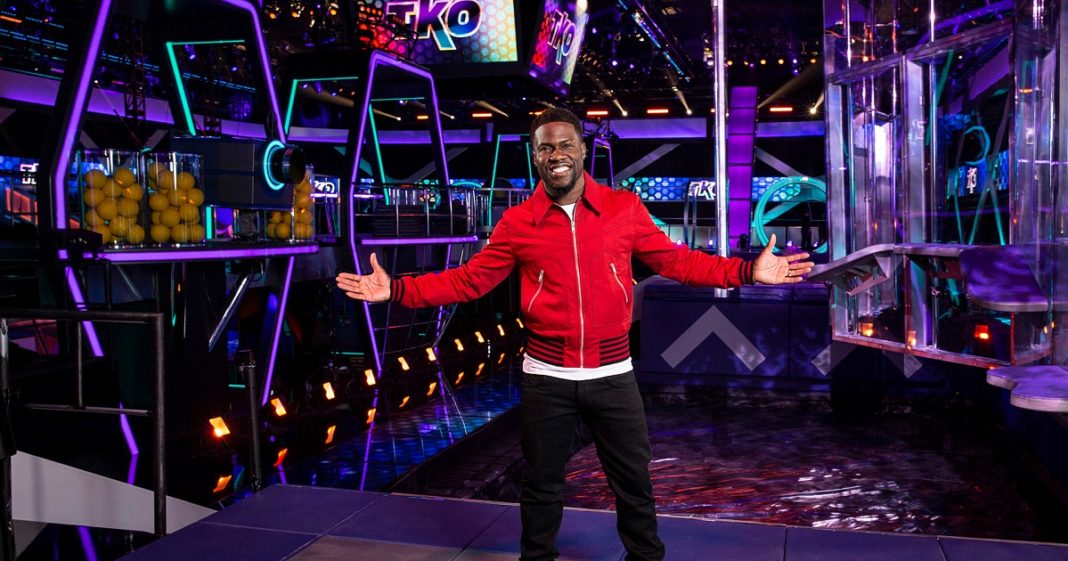 kevin hart hosting the show TKO total knock out