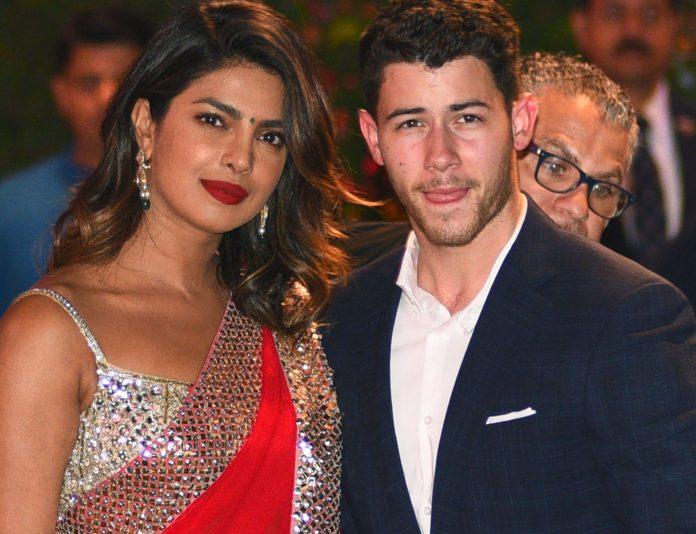 nick jonas and priyanka chopra in india
