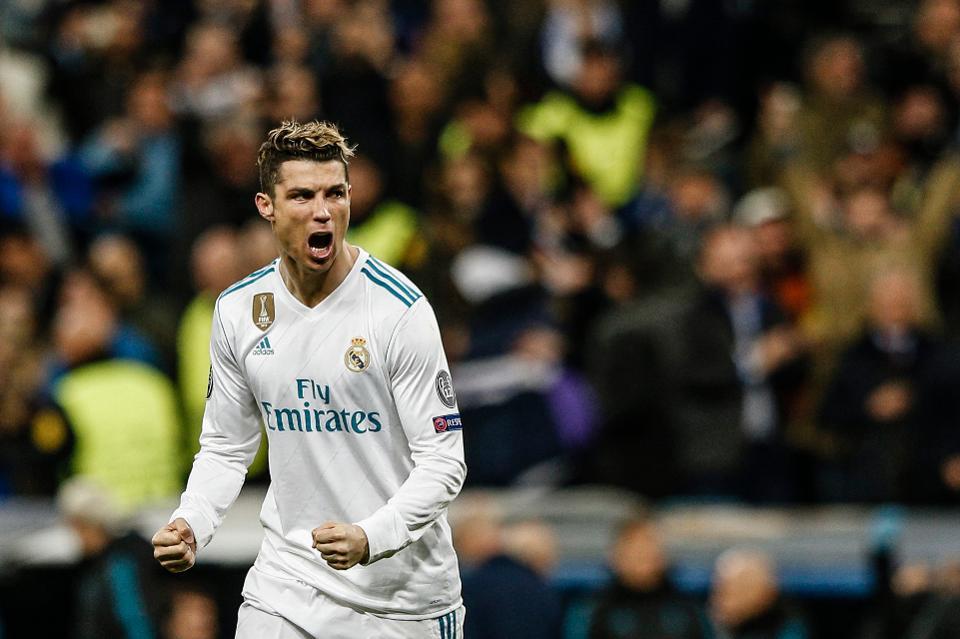footballer Cristiano Ronaldo