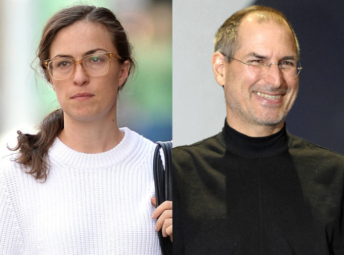steve jobs and his dughter