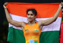 indian woman wrestler vinesh phogat