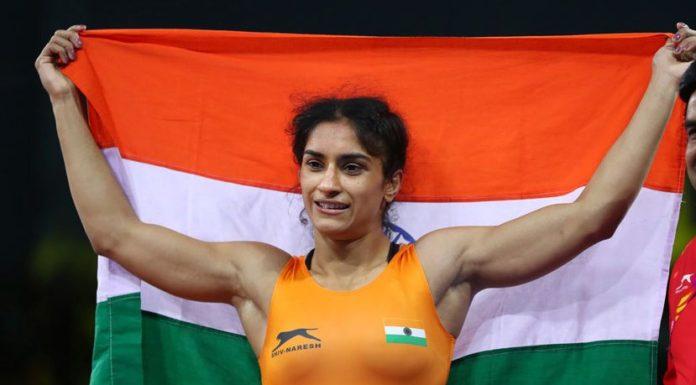 indian woman wrestler vinesh phogat