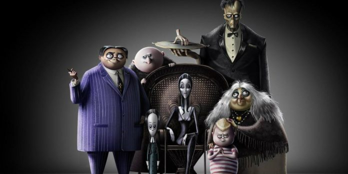 animated addams family movie first look