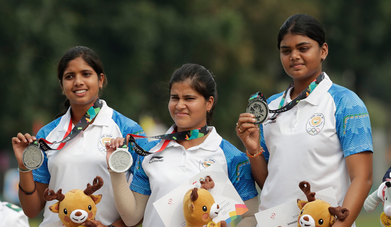 Indian compound Archery at asian games