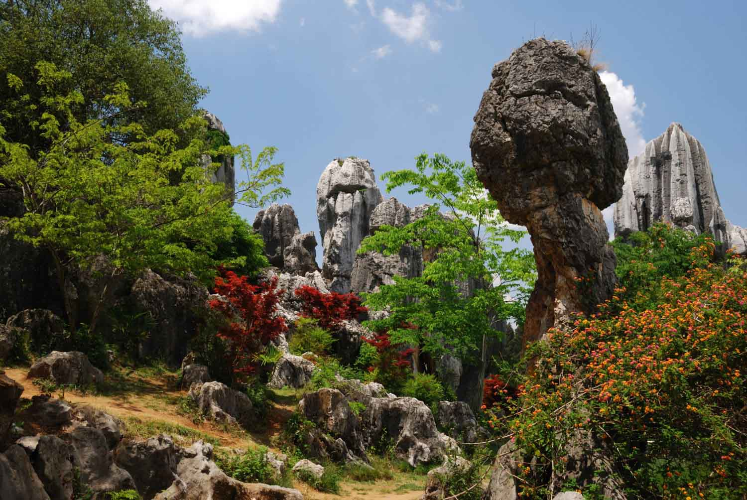 The Stone Forest – Shilin Stone Forest, China