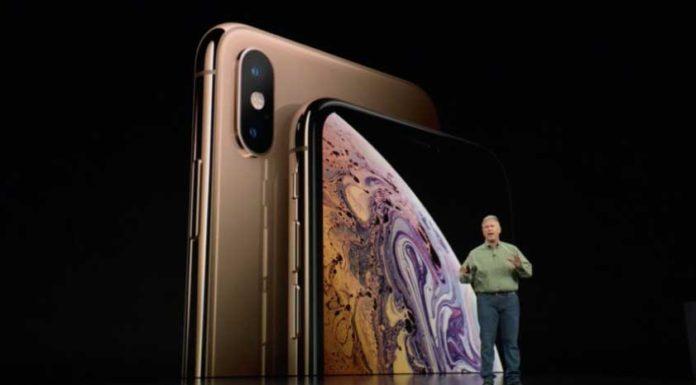iphone xs announcement