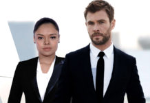 chris hamesworth and tessa thompson